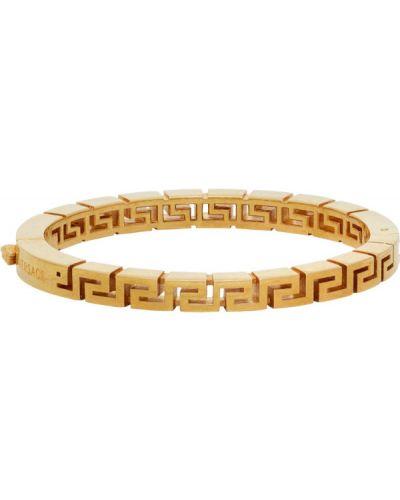 Bransoletka ze złota złoto z gniazdem Versace