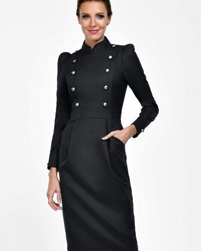Платье серое осеннее Alisia Fiori