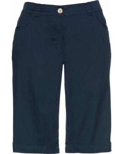 Спортивные брюки - голубые Bonprix