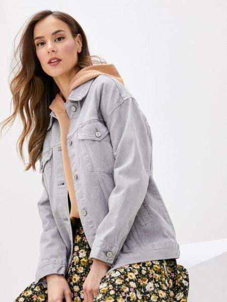 Серая джинсовая куртка Marks & Spencer