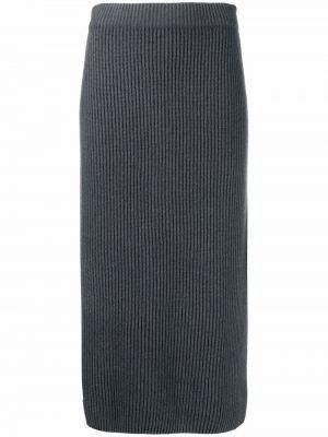 Серая кашемировая юбка Iris Von Arnim