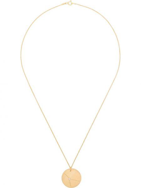 Złoty naszyjnik łańcuch pozłacany Hermina Athens