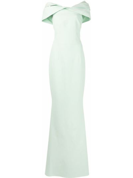 Зеленое вечернее платье Safiyaa