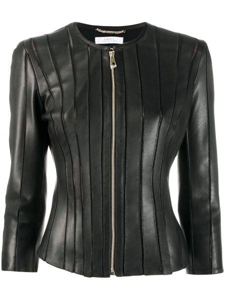 Черная куртка Versace Collection