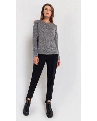 Повседневный серый свитер из ангоры Vovk
