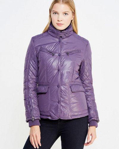 Утепленная куртка - фиолетовая Trussardi Collection