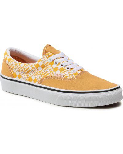 Żółte półbuty Vans