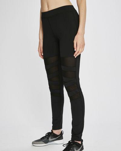 Черные брюки на резинке Liu Jo