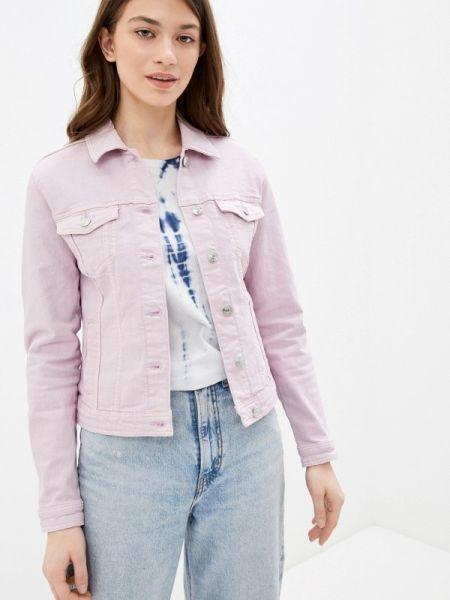 Джинсовая куртка весенняя розовая Springfield