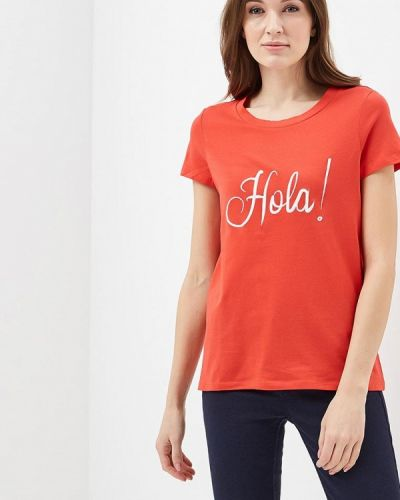 Красная футболка Vero Moda