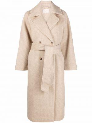 Пальто из альпаки Holzweiler
