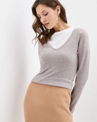 Бежевый пуловер William De Faye