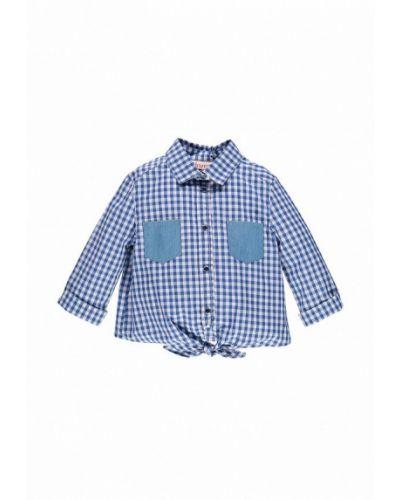 Синяя рубашка Brums