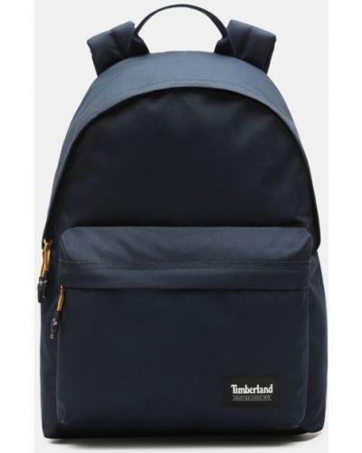 Мягкая темно-синяя сумка для ноутбука на молнии Timberland