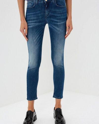 Синие джинсы-скинни Frankie Morello