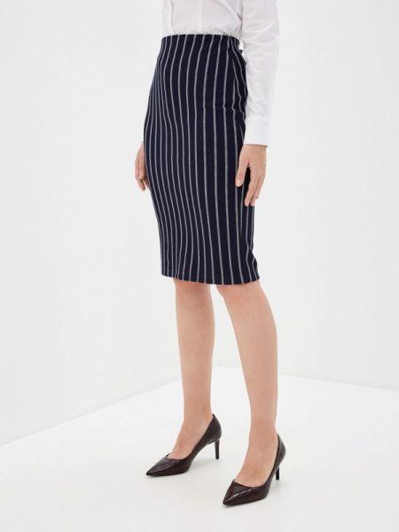 Клубная синяя юбка узкого кроя Concept Club