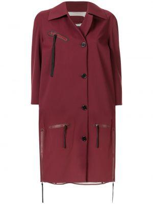 Укороченное пальто оверсайз на молнии Yang Li