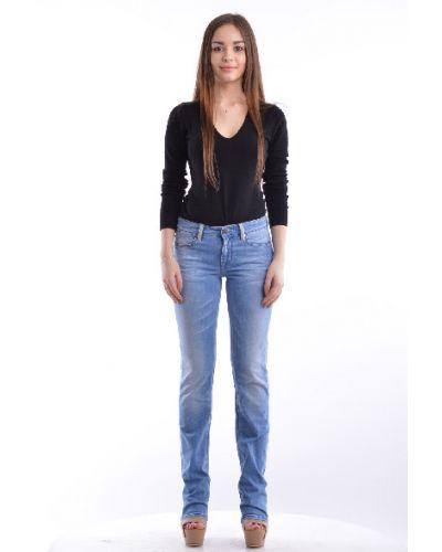 Синие прямые джинсы Guess By Marciano