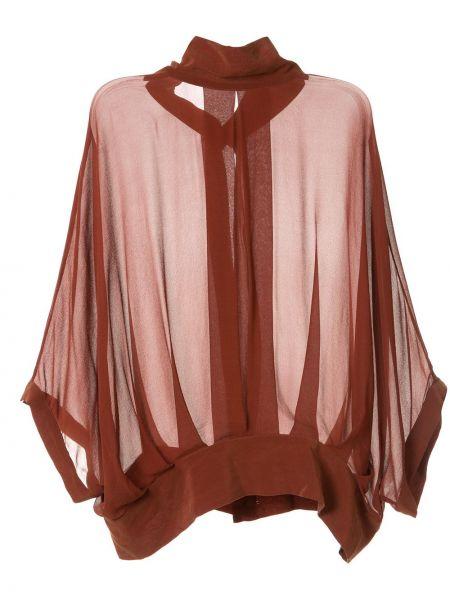 Пиджак с открытой спиной - коричневый Taylor