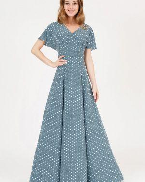 Повседневное платье бирюзовый весеннее Marichuell