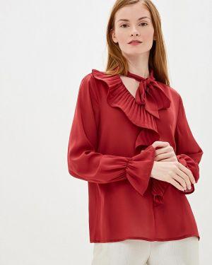 Блузка с длинным рукавом красная итальянский Camomilla Italia