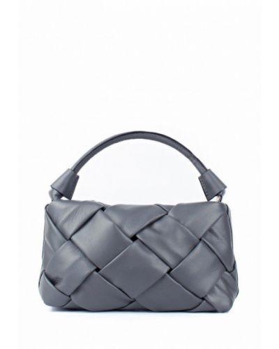 Кожаная сумка - серая Bella Bertucci