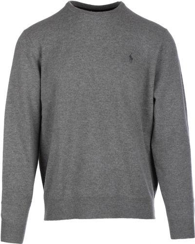 Szary sweter Ralph Lauren