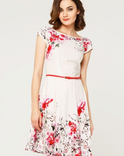 Бежевое платье мини Remix
