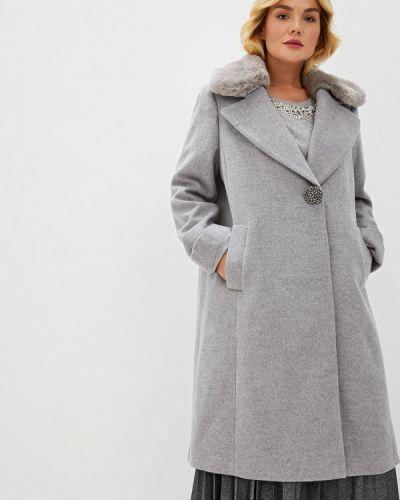 Пальто серое пальто Elena Miro