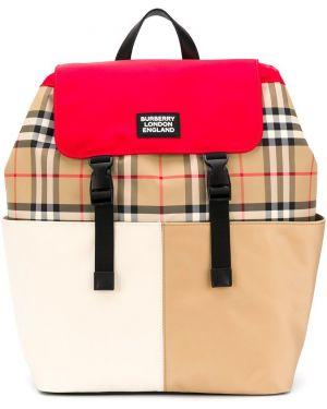 Рюкзак с логотипом Burberry Kids