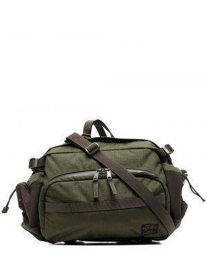 Zielony plecak z nylonu Filson