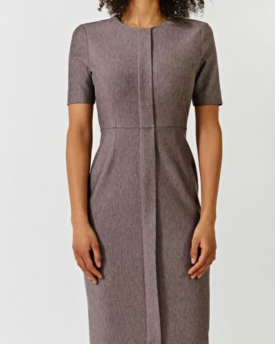 Платье миди облегающее из вискозы Simple
