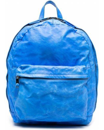Niebieski plecak skórzany Giorgio Brato