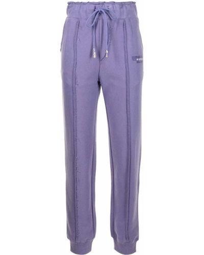 Spodnie bawełniane - fioletowe Ader Error