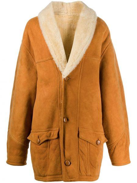 Длинное пальто на пуговицах A.n.g.e.l.o. Vintage Cult