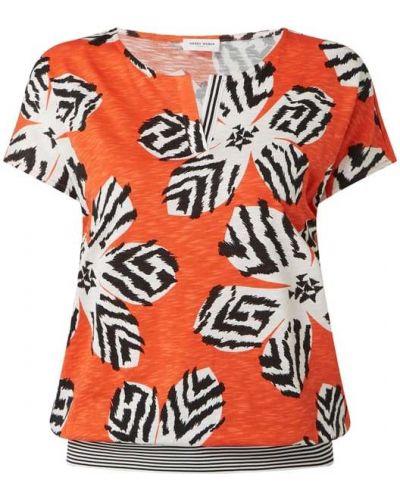 Pomarańczowa bluzka bawełniana Gerry Weber