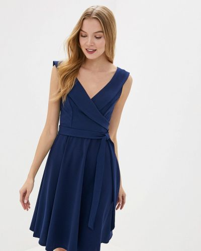 Платье осеннее прямое City Goddess
