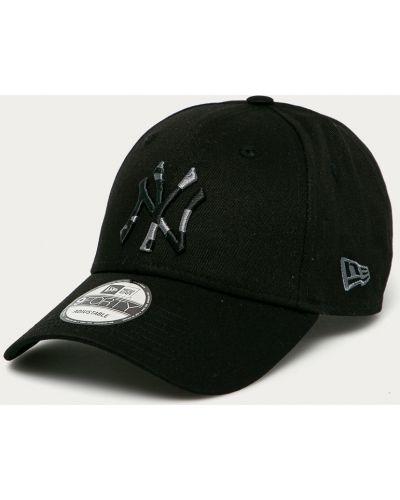 Czarny kapelusz bawełniany New Era