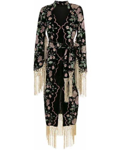 Платье макси длинное - черное Olympiah