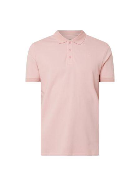 Różowy t-shirt bawełniany Raizzed