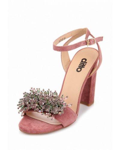 Розовые босоножки Ditto