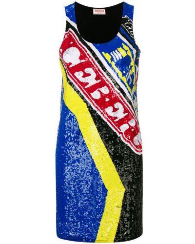 Платье мини с пайетками с рукавами Iceberg