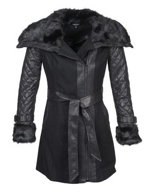 Czarny płaszcz przeciwdeszczowy Morgan