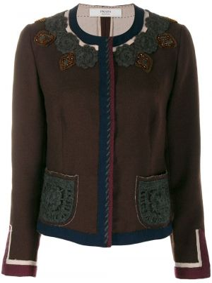 Пиджак с манжетами Prada Pre-owned