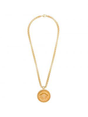 Домашняя цепочка золотая с подвесками Versace