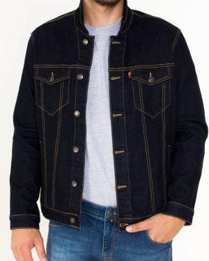 Джинсовая куртка с манжетами с поясом F5