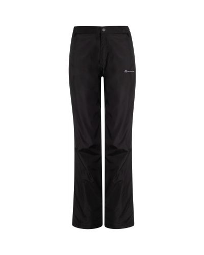 Спортивные брюки из полиэстера - черные Outventure