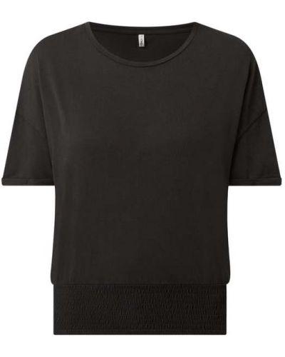 Czarny t-shirt bawełniany Only