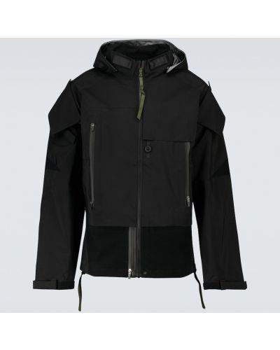Куртка с капюшоном - черная Acronym