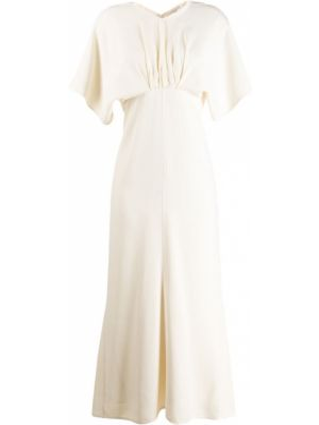 Платье миди летучая мышь ампир Victoria Beckham